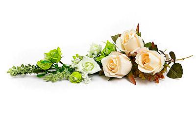 Blommor vid begravning