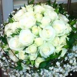 Brudbukett - dröm i vitt